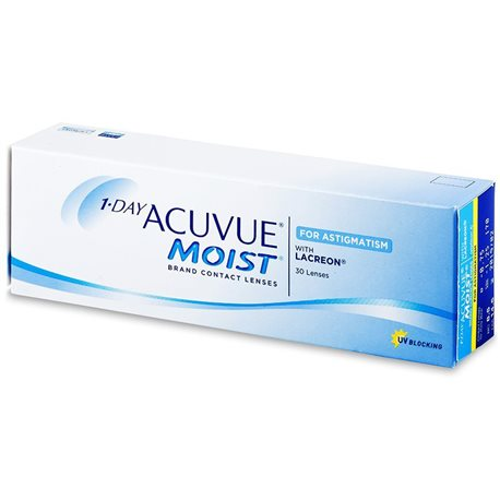 1-DAY ACUVUE MOIST Astig 30 Pz