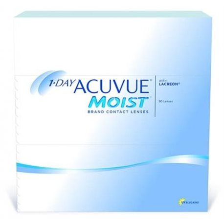 1-Day Acuvue Moist 90 Pz