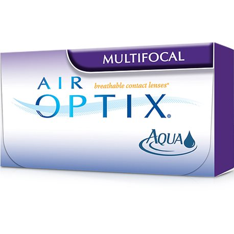 Air Optix Aqua Multifocal 6 Pz
